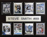 "Carolina Panthers Steve Smith 12"" x 15"" Card Plaque"