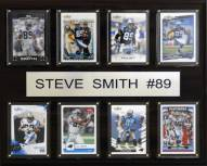 "Carolina Panthers Steve Smith 12"" x 15"" Card Plaque"