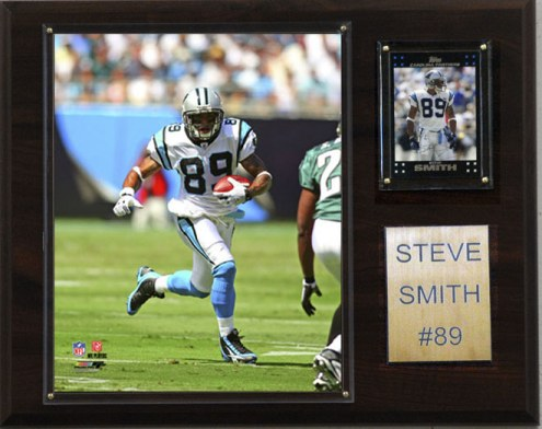 "Carolina Panthers Steve Smith 12 x 15"" Player Plaque"