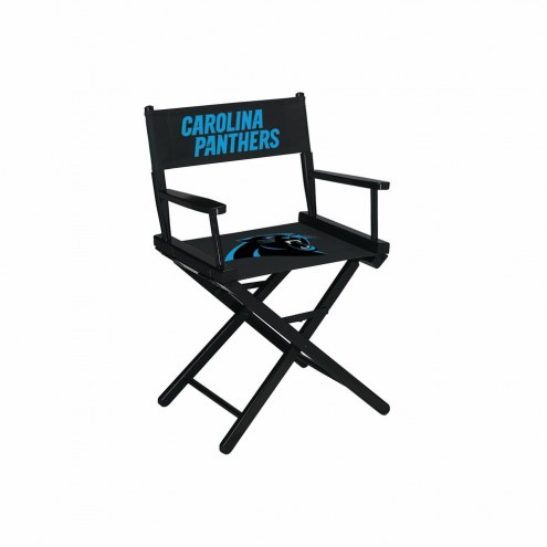 Carolina Panthers Table Height Director's Chair