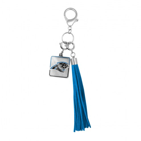 Carolina Panthers Tassel Purse Charm