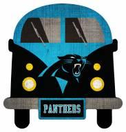 Carolina Panthers Team Bus Sign