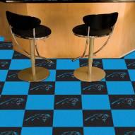 Carolina Panthers Team Carpet Tiles