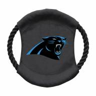 Carolina Panthers Team Frisbee Dog Toy