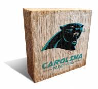 Carolina Panthers Team Logo Block