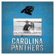"Carolina Panthers Team Name 10"" x 10"" Picture Frame"