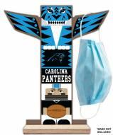 Carolina Panthers Totem Mask Holder