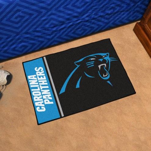 Carolina Panthers Uniform Inspired Starter Rug