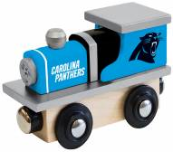 Carolina Panthers Wood Toy Train