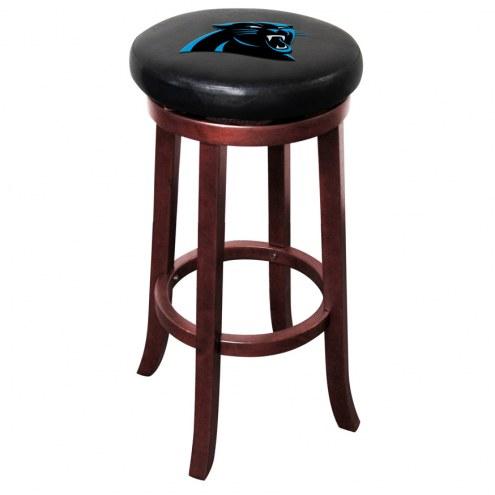 Carolina Panthers Wooden Bar Stool