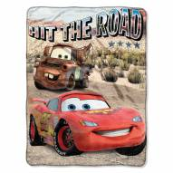 Cars Off The Road Micro Raschel Throw Blanket