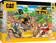 Caterpillar Day at the Quarry 60 Piece Puzzle