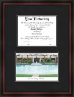 University of Central Florida Diplomate Framed Lithograph with Diploma Opening