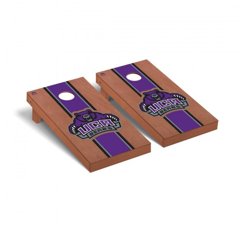 Central Arkansas Bears Rosewood Stained Cornhole Game Set