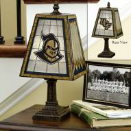 Central Florida Golden Knights Art Glass Table Lamp