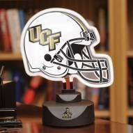 Central Florida Golden Knights Neon Helmet Desk Lamp