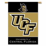 """Central Florida Golden Knights Premium 28"""" x 40"""" Two-Sided Banner"""
