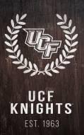"Central Florida Knights 11"" x 19"" Laurel Wreath Sign"