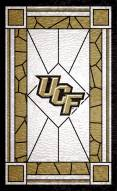 """Central Florida Knights 11"""" x 19"""" Stained Glass Sign"""