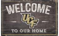 """Central Florida Knights 11"""" x 19"""" Welcome to Our Home Sign"""