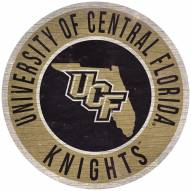 """Central Florida Knights 12"""" Circle with State Sign"""