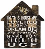 """Central Florida Knights 12"""" House Sign"""