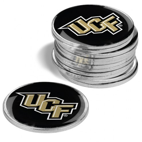Central Florida Knights 12-Pack Golf Ball Markers