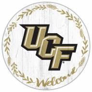"""Central Florida Knights 12"""" Welcome Circle Sign"""