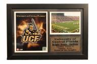 """Central Florida Knights 12"""" x 18"""" Photo Stat Frame"""