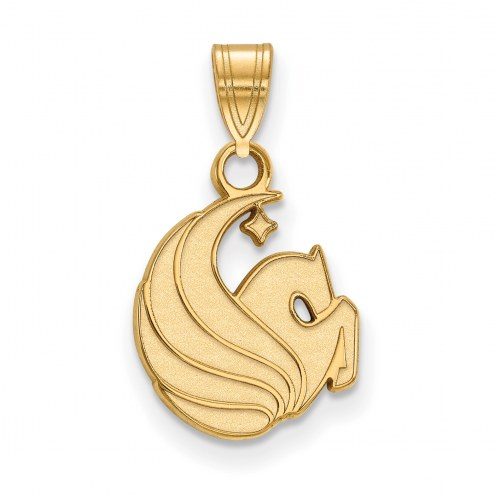Central Florida Knights 14k Yellow Gold Small Pendant