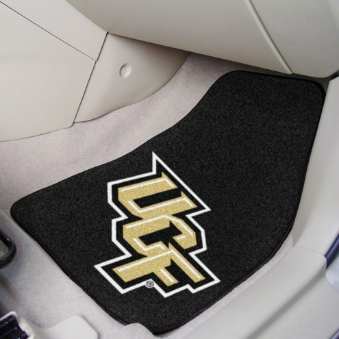 Central Florida Knights 2-Piece Carpet Car Mats