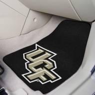 Central Florida Knights 2-Piece Carpet Car Mats