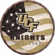 "Central Florida Knights 24"" Flag Barrel Top"