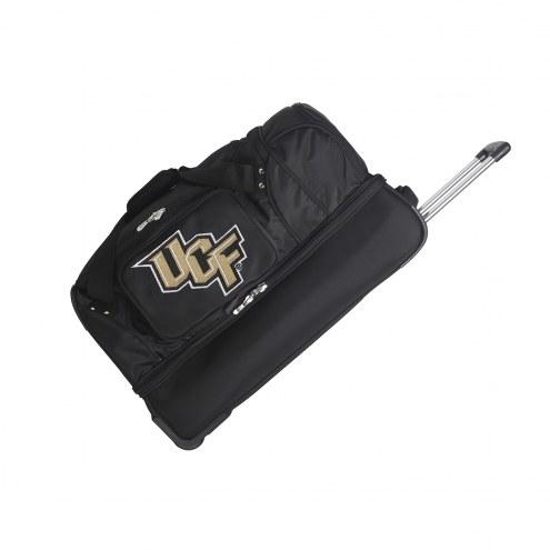 "Central Florida Knights 27"" Drop Bottom Wheeled Duffle Bag"