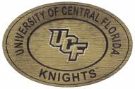 """Central Florida Knights 46"""" Heritage Logo Oval Sign"""