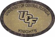 """Central Florida Knights 46"""" Team Color Oval Sign"""