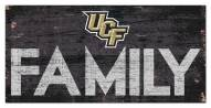"""Central Florida Knights 6"""" x 12"""" Family Sign"""