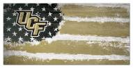 """Central Florida Knights 6"""" x 12"""" Flag Sign"""