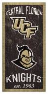 """Central Florida Knights 6"""" x 12"""" Heritage Sign"""