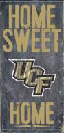"""Central Florida Knights 6"""" x 12"""" Home Sweet Home Sign"""