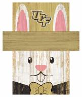 """Central Florida Knights 6"""" x 5"""" Easter Bunny Head"""