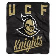 Central Florida Knights Alumni Raschel Throw Blanket