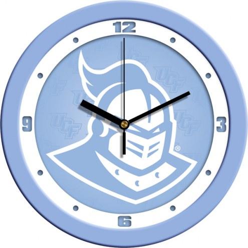 Central Florida Knights Baby Blue Wall Clock
