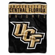Central Florida Knights Basic Plush Raschel Blanket