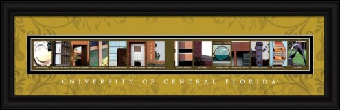 Central Florida Knights Campus Letter Art