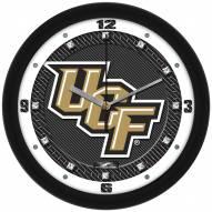 Central Florida Knights Carbon Fiber Wall Clock