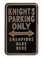 Central Florida Knights Champions Parking Sign