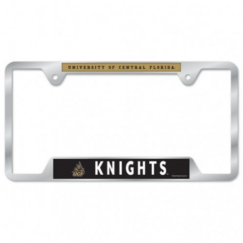 Central Florida Knights Color Metal License Plate Frame