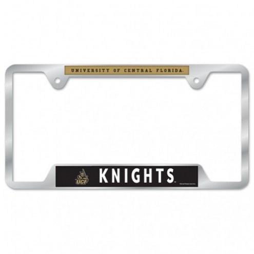 Central Florida Knights Color Metal License Plate Frame