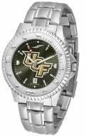 Central Florida Knights Competitor Steel AnoChrome Color Bezel Men's Watch